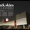 Opening double spread of Dark Skies Recognised; showing Kilder Observatory
